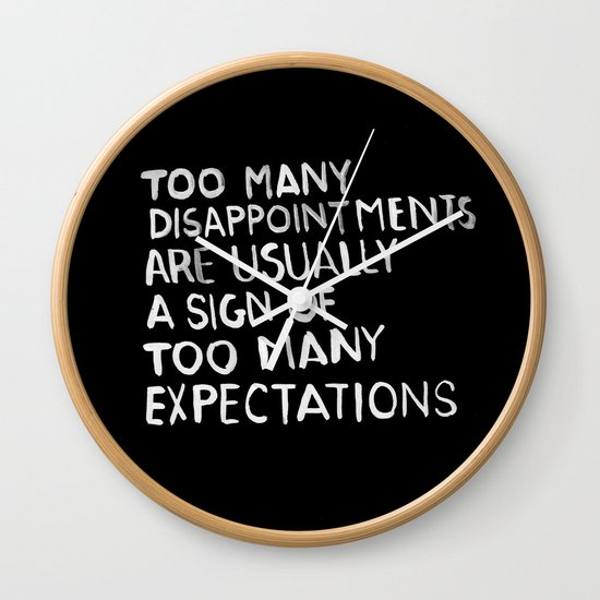 Disappointments /2/ Wall Clock