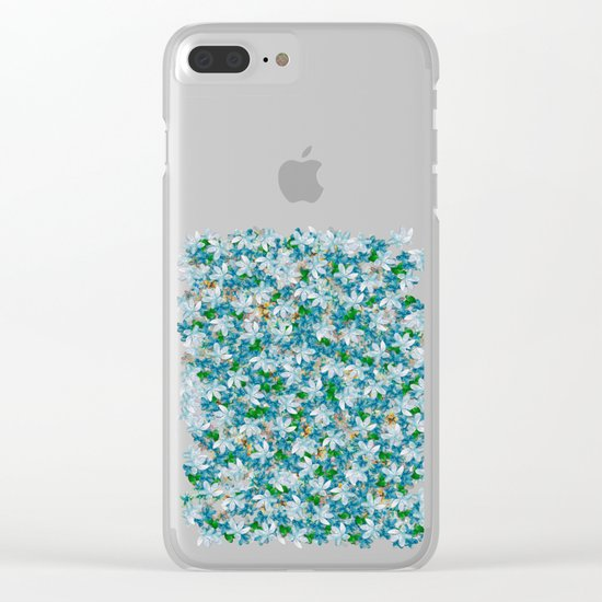 Florals for All, Spring Clear iPhone Case