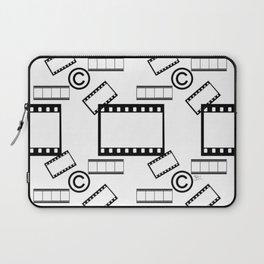 Film © pattern Laptop Sleeve