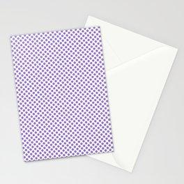 Lilac Bush Polka Dots Stationery Cards