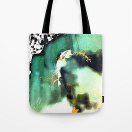 the model Tote Bag