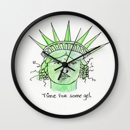 Hairy Situation Wall Clock