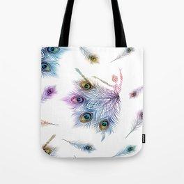 Peacock Dancer Tote Bag