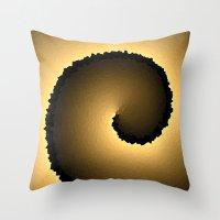 justin timberlake Throw Pillows featuring Justin by Angela Pesic