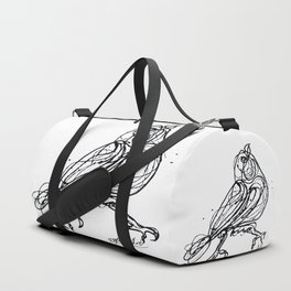 Chin Up Little Buttercup #Abstract #Pollock #society6 #decor #buyart by Lena Owens @OLena Art Duffle Bag