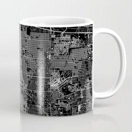 Denver Black Map Coffee Mug