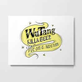 Killa Beez Metal Print