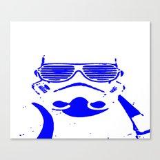 Blue Trooper Canvas Print