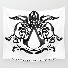 Assassin's Creed - Nothing is True Wall Tapestry