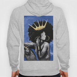 Naturally Queen VI BLUE Hoody
