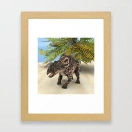 Dinosaur Einiosaurus Framed Art Print