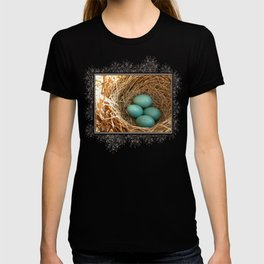 Four American Robin Eggs T-shirt