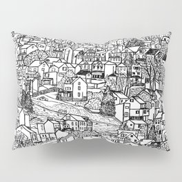 Southside Slopes, Pittsburgh, PA Pillow Sham