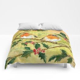 English Robin Comforters