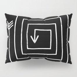 Square Arrow Pillow Sham