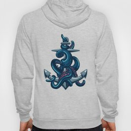 Octopus and Anchor Hoody
