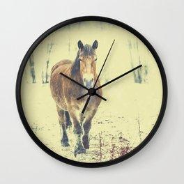 Wandering beauty Wall Clock