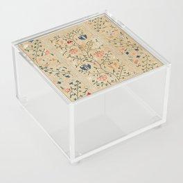 Uzbekistan Suzani Nim Embroidery Print Acrylic Box