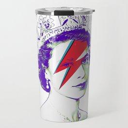 Queen Elizabeth / Aladdin Sane Travel Mug