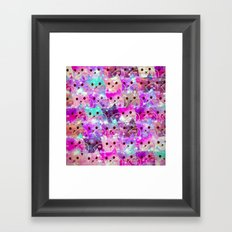 lovely cats-3 Framed Art Print