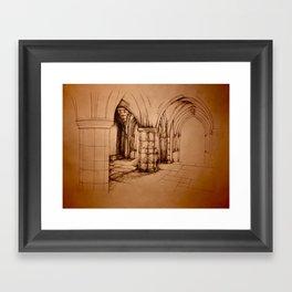 Broken Archway Framed Art Print