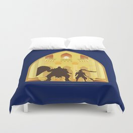 Ornstein and Smough (Dark Souls) Duvet Cover