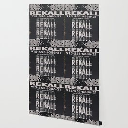 Rekall ( Total Recall ) Vintage magazine commercial. Wallpaper