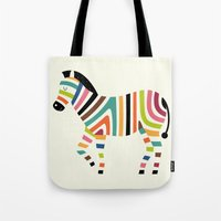 code Tote Bags featuring Magic code by Andy Westface