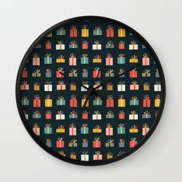 Holiday Gifts  Wall Clock