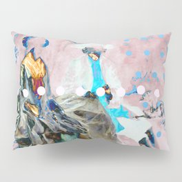 The Lovers In Pink Pillow Sham