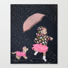 Rainy Day Adventure Canvas Print