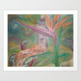 SkyesGarden Art Print