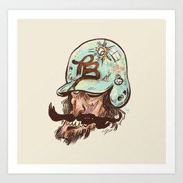 Whisky Willy - Phantom Borough Sluggers Art Print