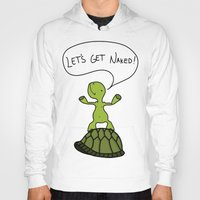 sassy Hoodies featuring Sassy Turtle by Lazy Designs