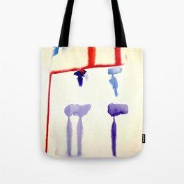 watercolor drips Tote Bag