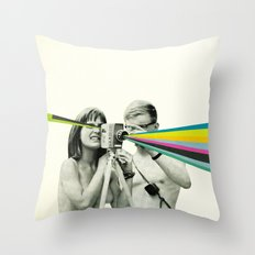 Back to Basics Throw Pillow