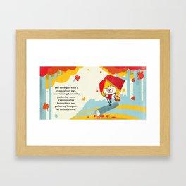 Little Red Riding Hood - Pg 1 Framed Art Print
