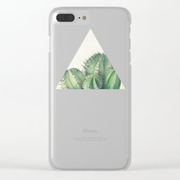 African Milk Barrel Clear iPhone Case
