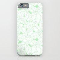 Leaves in Wintergreen iPhone 6s Slim Case