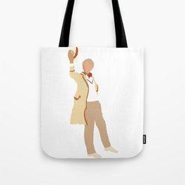 Fifth Doctor: Peter Davison Tote Bag