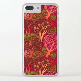 Inner Bloom Clear iPhone Case