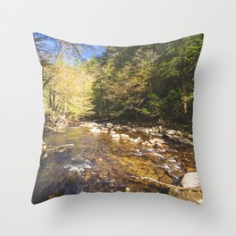 Relax and Listen Throw Pillow