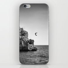 Jumping... iPhone & iPod Skin