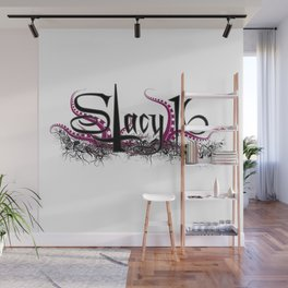 Stacy 16 logo White Wall Mural