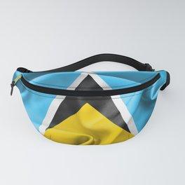 Saint Lucia Flag Fanny Pack