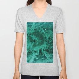 Malachite Dream #1 #gem #decor #art #society6 Unisex V-Neck