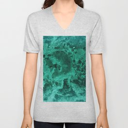 Malachite Dream #1 #gem #decor #art #society6 Unisex V-Neck