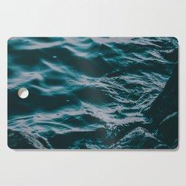 water waves Cutting Board