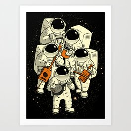 Space Jamboree Art Print