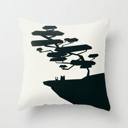 beauty trumped vertigo Throw Pillow